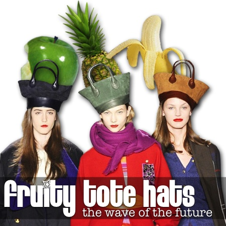 fruity tote hats the wave of the future